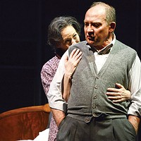 Kathleen McNenny and Zach Grenier in <i>Death of a Salesman</i> at Pittsburgh Public Theater