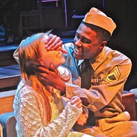 Elizabeth Boyke and Lamont Walker II in <i>Violet</i>, at Front Porch Theatricals
