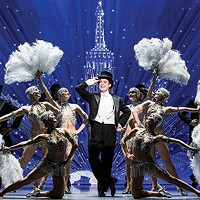 Nick Spangler and the <i>An American in Paris</i> touring company