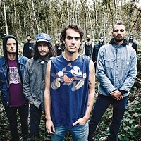 All Them Witches, in the woods