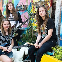 High-school shredders WolfBlud kick off Ladyfest on Fri., June 23.