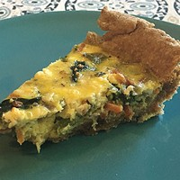 Tasty, sad quiche