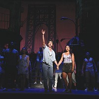 Joshua Grosso and Stephanie Klemons in <i>In the Heights</i> at Pittsburgh CLO