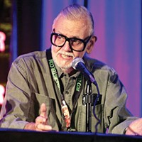 "In memory of ""Night of the Living Dead"" director George A. Romero"