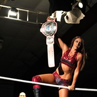 Britt Baker wins the IWC Women's championship