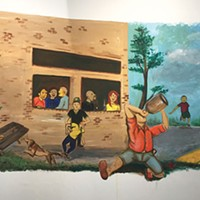 <i>Wall Paintings: Storytellers</i> at SPACE