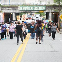Hundreds participate in 'Black Brilliance' march in Pittsburgh to repudiate the so-called 'alt-right' and neo-Nazis