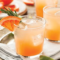 Grapefruit and tequila <i>palomas</i>