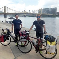 Korean cyclists bike across U.S. to raise awareness about 'comfort women'