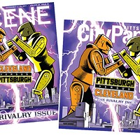 This week's <i>Cleveland Scene</i> and <i>Pittsburgh City Paper</i> covers
