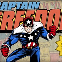 "Pittsburgh-area artist starting crowdfunding campaign for ""Captain Freedom: Combat Hate"" comic"