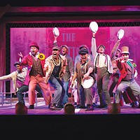 The cast of <i>The Scottsboro Boys</i>, at the Playhouse REP