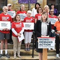 Jenna Paulat, volunteer with the Pennsylvania chapter of Moms Demand Action for Gun Sense in America