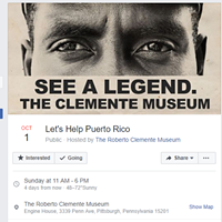 Pittsburgh's Roberto Clemente Museum accepting donations Oct. 1 for hurricane-ravaged Puerto Rico