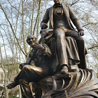 Hearing held on possible removal of Pittsburgh's Stephen Foster statue