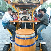 Pittsburgh Party Pedaler, winner of Best Beer-Related Tour