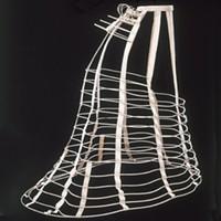 A circa-1871 cage crinoline