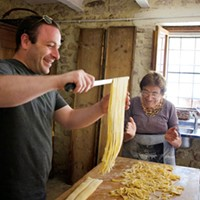 A recipe for fresh tagliatelle pasta from Dave Anoia