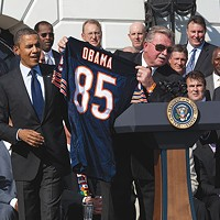 Mike Ditka didn't think Barack Obama was disgusting when he joined him at the White House.