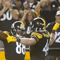 Pittsburgh Steelers at Heinz Field on Sun., Oct. 22.