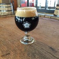 Undead Goon, Barrel-Aged Imperial Stout, Spoonwood Brewing Company