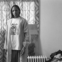 "LaToya Ruby Frazier's ""Huxtables, mom and me"" (2008)"