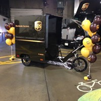 Pittsburgh becomes first U.S. city with year-round UPS bike-delivery route
