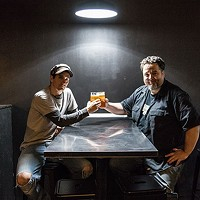 Abjuration Brewing Company's Dave Hallam and Tom Glover