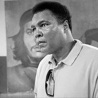 Ali in 1998 in Havana, Cuba