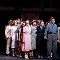 The cast of <i>Parade</i>, at University of Pittsburgh Stages