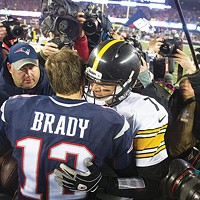 In Pittsburgh, the Steelers-Patriots game is the most anticipated holiday of the month