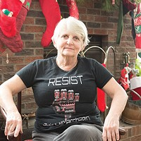 Kitty Lagorio at her home in Peters Township