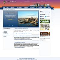 City of Pittsburgh website circa 2013