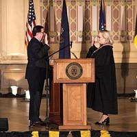 Mayor Bill Peduto at his Jan. 3 inauguration