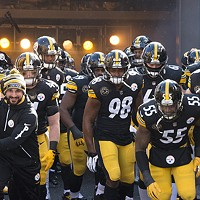 The Steelers take the field against the Jacksonville Jaguars on Sun., Jan. 14