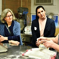 Instructor Shauna Kearns leads a Sourdough Bread Baking Basics class on Sat., Jan. 20.