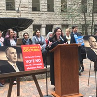 Pittsburghers call on Sen. Bob Casey to oppose 20-week abortion-ban bill