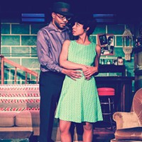 "Leslie ""Ezra"" Smith and Alexandria Danielle King in <i>Detroit '67</i> at New Horizon Theater"