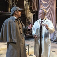 <i>Holmes and Watson</i> at New Hazlett Theater