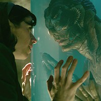 In character: Sally Hawkins and Doug Jones in <i>The Shape of Water</i>