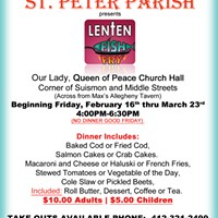 Gone Fishin': St. Peter Parish at Our Lady, Queen of Peace Church