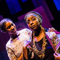 The two Mayas: Kendall Arin Claxton and Linda Kanyarusoke in <i>I Know Why the Caged Bird Sings</i>