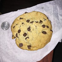 Eat Me: Jumbo chocolate-chip cookie from Cakery Square