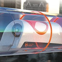 Carnegie Mellon University's hyperloop design