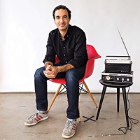Radiolab host Jad Abumrad speaks at Carnegie Library and Lecture Hall on Fri., April 6