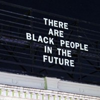 "Updated: ""There Are Black People In The Future"" text removed from East Liberty public-art project at behest of landlord"