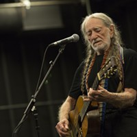 Willie Nelson headlines the Outlaw Music Festival in September at KeyBank Pavilion