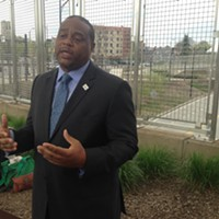 State Rep. Ed Gainey and advocates call for fleet of electric buses in Pittsburgh area
