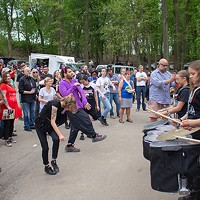 Pittonkatonk in Schenley Park on Sat., May 5, 2018