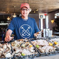 Angelo Galioto, the oyster aficionado at Merchant Oyster Co.